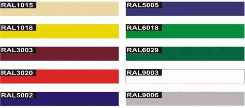 Цветовая гамма сэндвич панелей