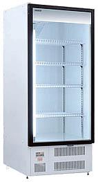 Холодильные шкафы «Премьер» со стеклянными распашными дверьми 0,7 С