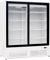 Холодильные шкафы «Премьер» со стеклянными распашными дверьми 1,6 С