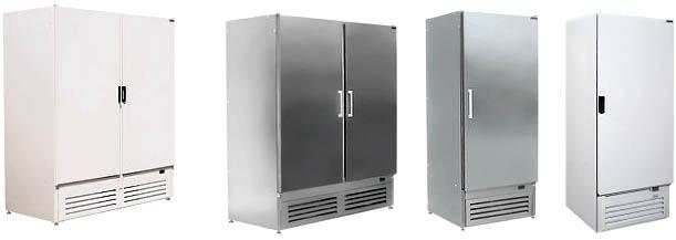Холодильные шкафы «ПРЕМЬЕР» с металлическими дверьми